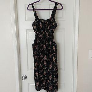 Topshop Midi Floral Dress NWOT